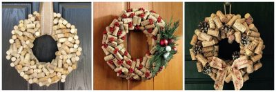 DIY Cork Wreath Making Class
