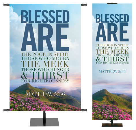 Beatitudes Banners for Church Settings and More!
