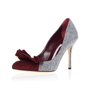 a91f125f119fb 2017 Luxury popular real leather women pencil high heel shoes for women