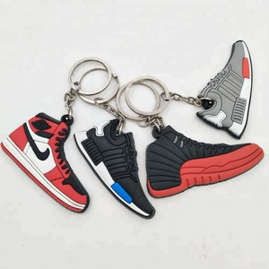 online store 9298e 1e783 Wholesale 2D Rubber PVC Mini Air Max Jordan Basketball Shoes Sneaker  Keychain
