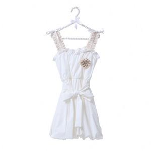 Hot sale baby girl dress fashion kids princess summer flower beaded girls  birthday party dresses c70730ef0b8d