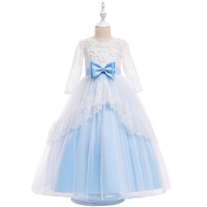Whole sale fashion princess dress baby girls birthday party dress pretty  girls dresses for kids size 0b3e03a4de62