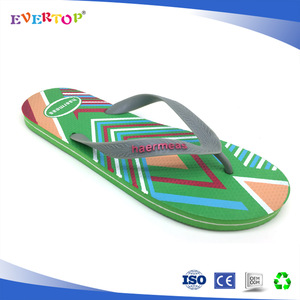 2a8353e11 cheap mens leather flip flops printing machine for flip flop green color  slippers