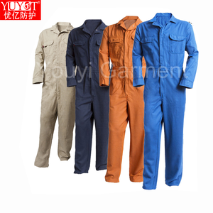 915ea4ed1e4a High performance anti static oil proof flame Retardant frc coverall workwear