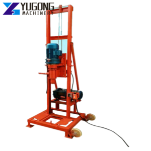 Hydraulic Motor 600 Meters Diesel Homemade Water Well Drilling Rig for Parts