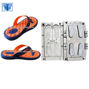 6c50f079ef719 EVA two color sole mould with PVC upper