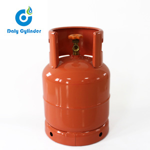 Haiti Market 12 5kg Empty Steel Material Lpg Cylinder For Propane And Butane Gas