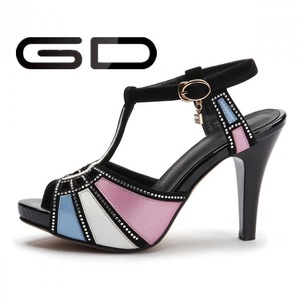 edcedab7bd9b GD Customize Leather Latest Lady Sandal Designs Girl Branded Ladies Sandals