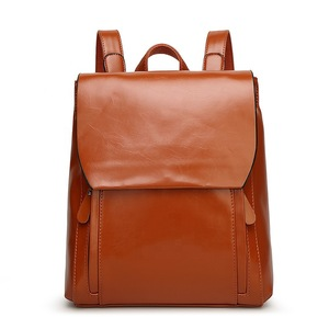 bb7fcfd537 wholesale casual women college student shoulders backpack for ladies pu  leather office small travel bag