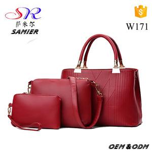 W171 lady casual clutch 3 in 1 branded popular handbag sling bag f9f2e57d8cad6