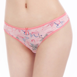 719cdc8dbe Yun Meng Ni New Design Underwear for Mature Women Special Leaves Printing Sexy  G Strings