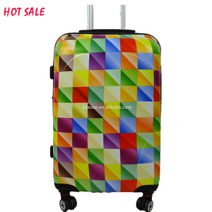 cf97ad6de2 2016 market trolley beautiful women travel luggage with stainless steel  trolleys