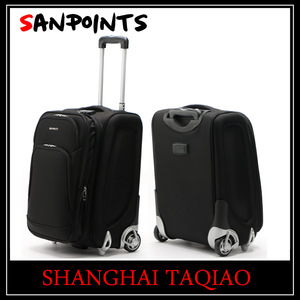 8379d888373 Trolley luggage with built in scale travel suitcase