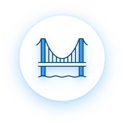 Bridge Structure Icon