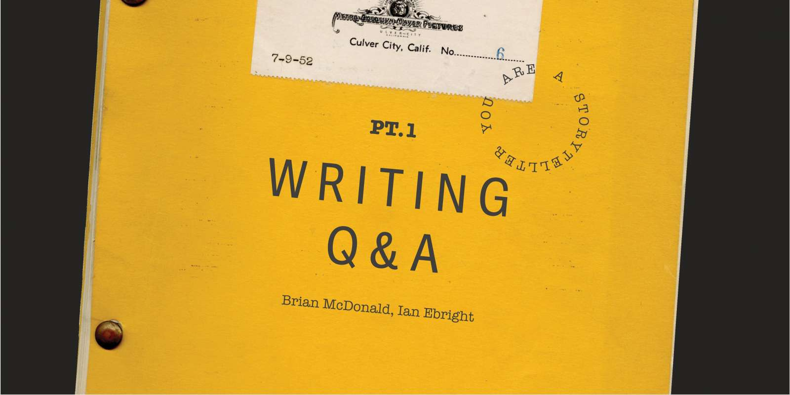 You Are a Storyteller: Writing Q&A Hero Image