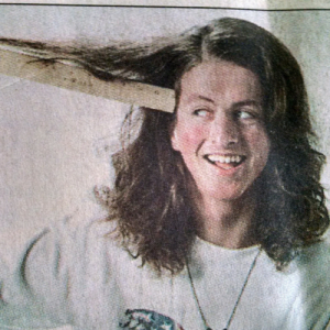 A clipping from the Winston-Salem Journal featuring a story about a haircut I once got.