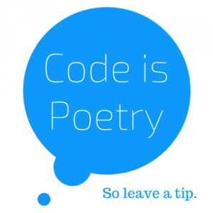 If you like the poem, support the poet. My Case for WordPress Patrons.