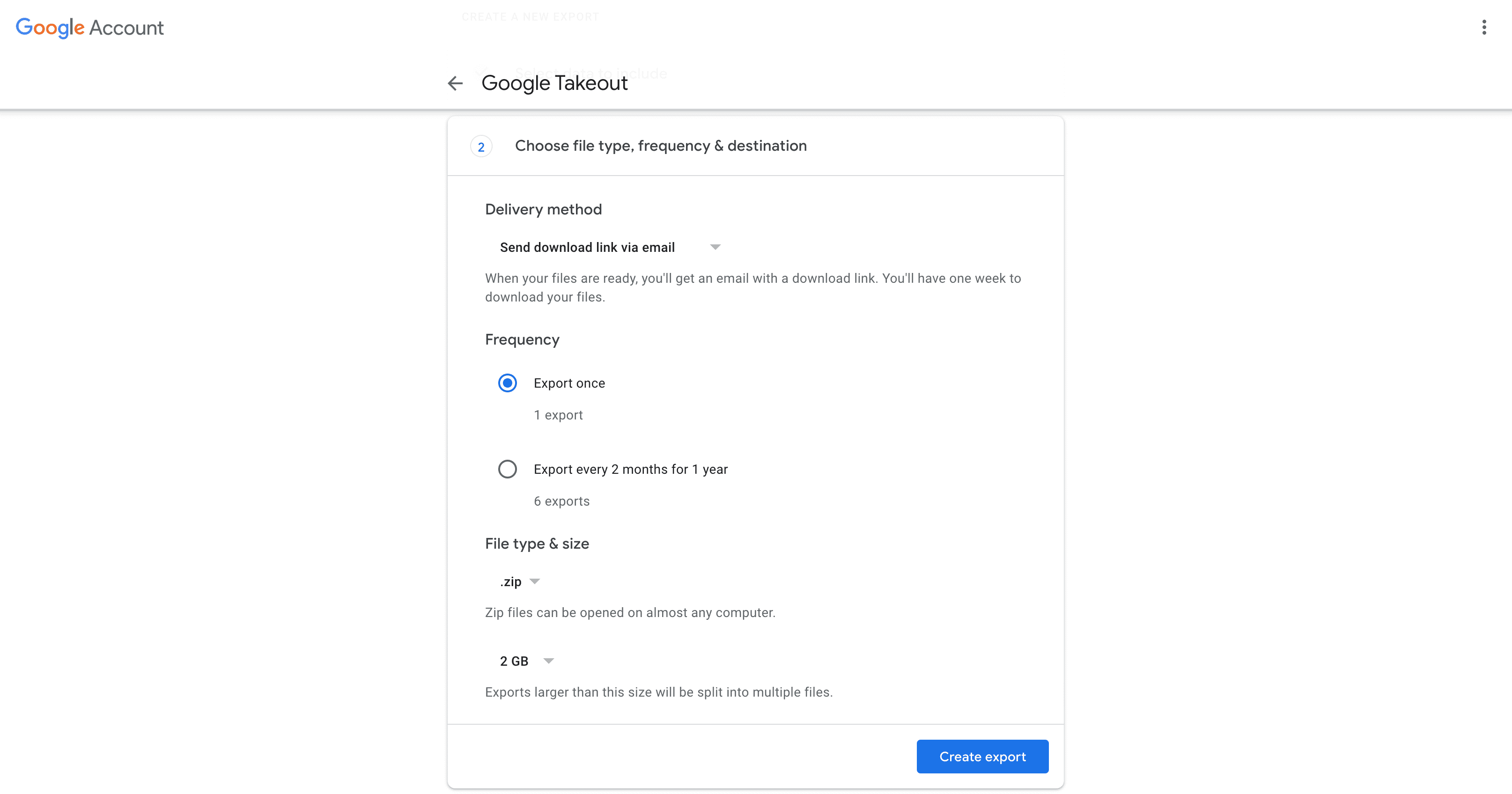 google-takeout-select-file-type