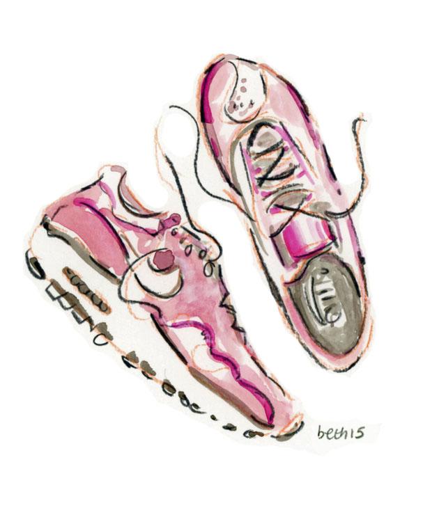 Pink sneaks 2