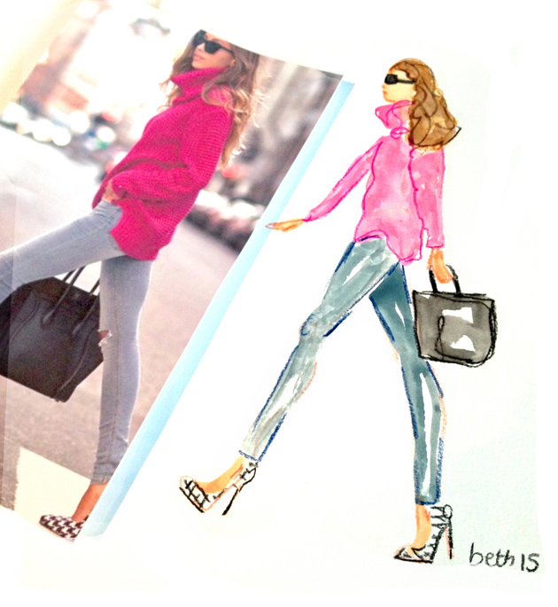 bethbriggs hot pink blog