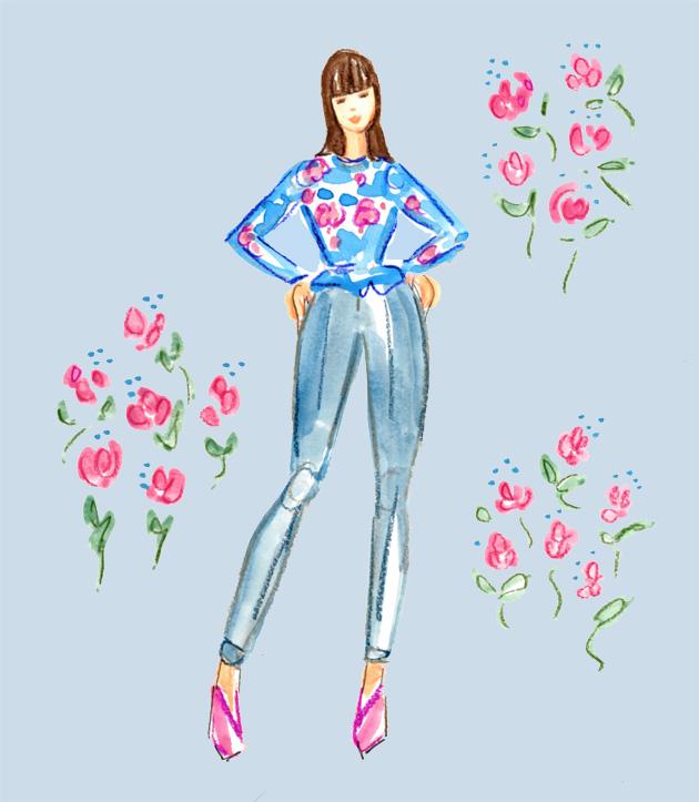 Spring fashion copy