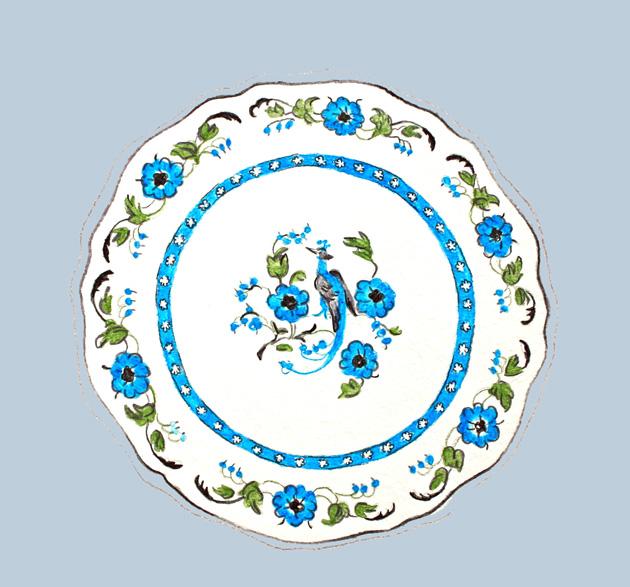 vintage plate blog