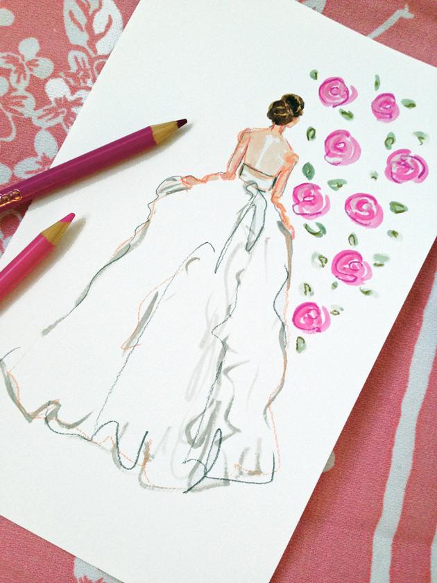 pink bride blog