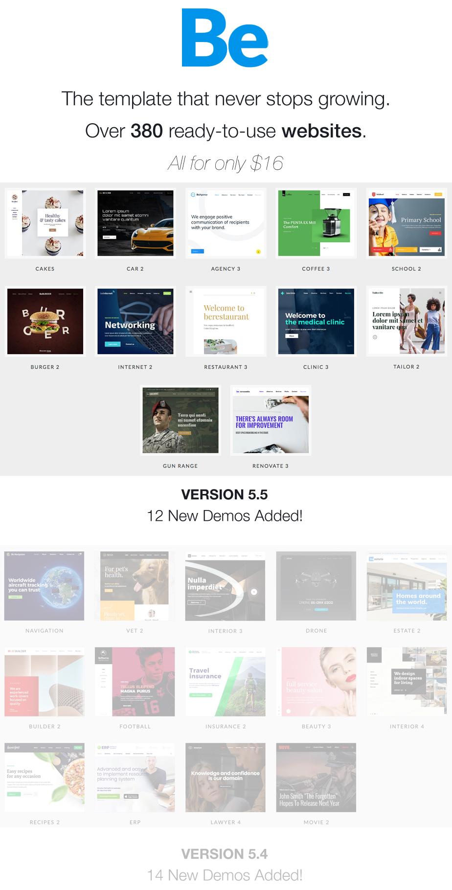 BeTheme - HTML Responsive Multi-Purpose Template - 1