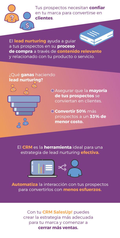 Infografía Lead Nurturing
