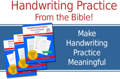 Bible Verses for Handwriting Practice