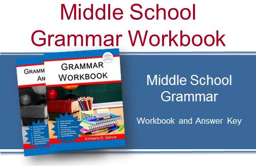 Middle School Grammar Workbook Set