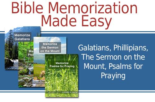 Bible Memorization Made Easy