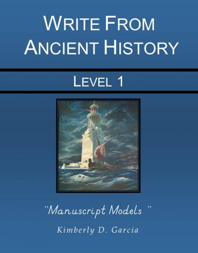 D'Nln Write from Ancient History Level 1 Manuscripts