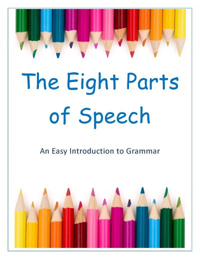 Eight Parts of Speech Worksheets