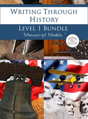 Writing Through History Level 1 Manuscript Bundle