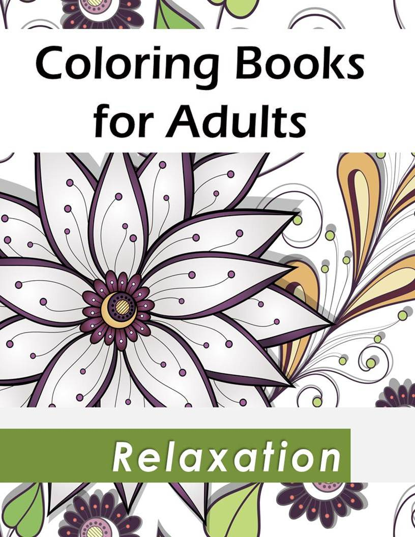 Coloring Books For Relaxation : Coloring books for relaxation rev c o p y updated ed