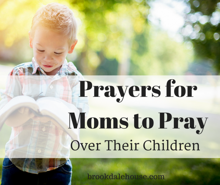 Do you ever wonder what to pray over your children about?