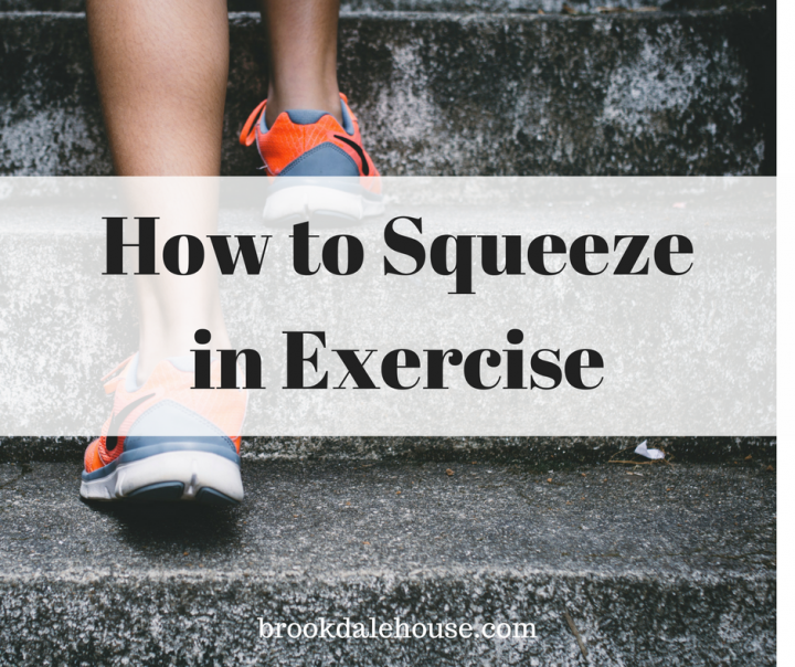 How to Squeeze in Exercise