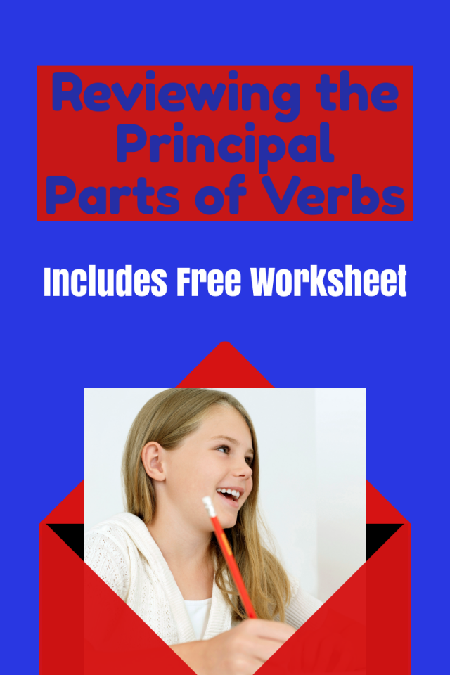 Verbs can get a bit complicated, but by reviewing the principal parts of verbs, your child will understand how to use verbs to form sentences properly.
