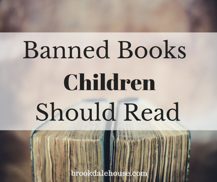 Reading banned books with your children gives you the opportunity to talk about the book, why they think it might have been banned and the real-life issues that face us today.