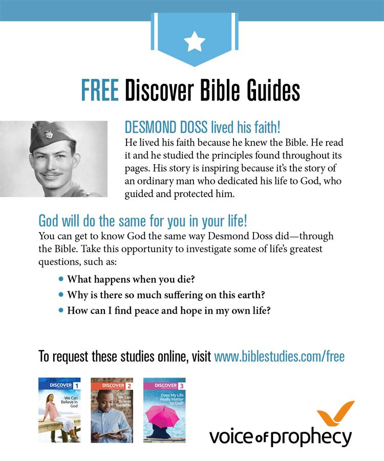 Bible Study: Desmond Doss