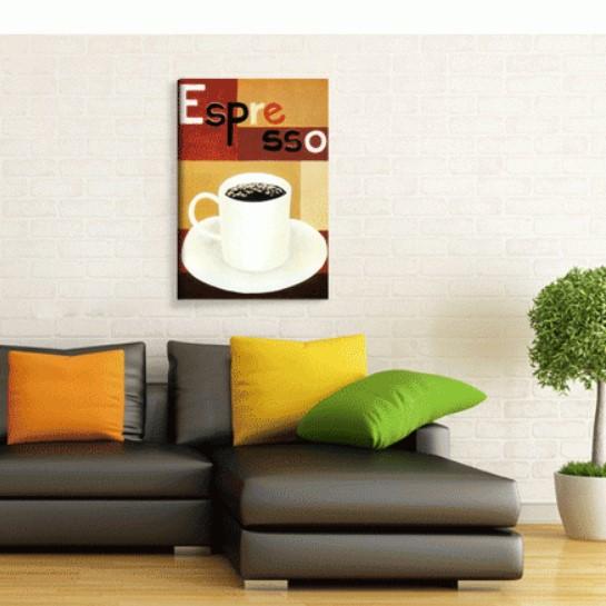 Espresso Kanvas Tablo