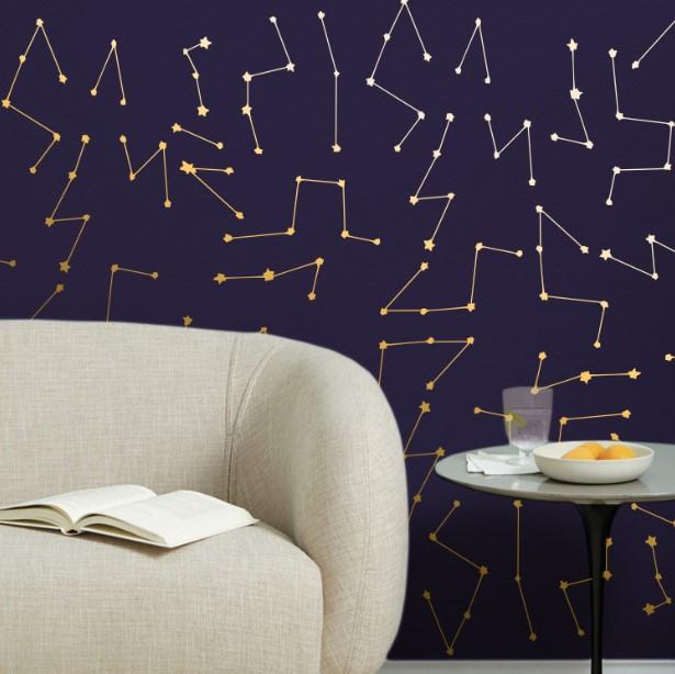 Yıldız Haritası Tekli Metalik