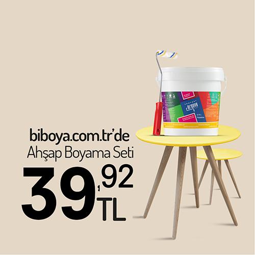 Latte Ahşap Boyama