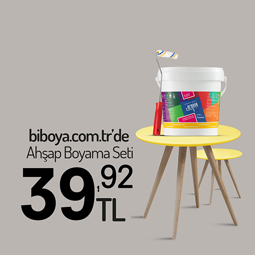 Krater Ahşap Boyama