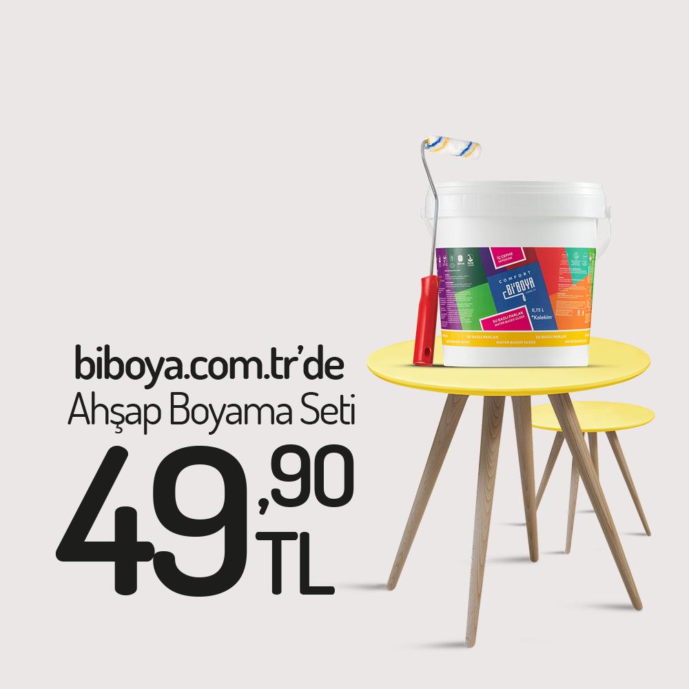 Kristal Ahşap Boyama