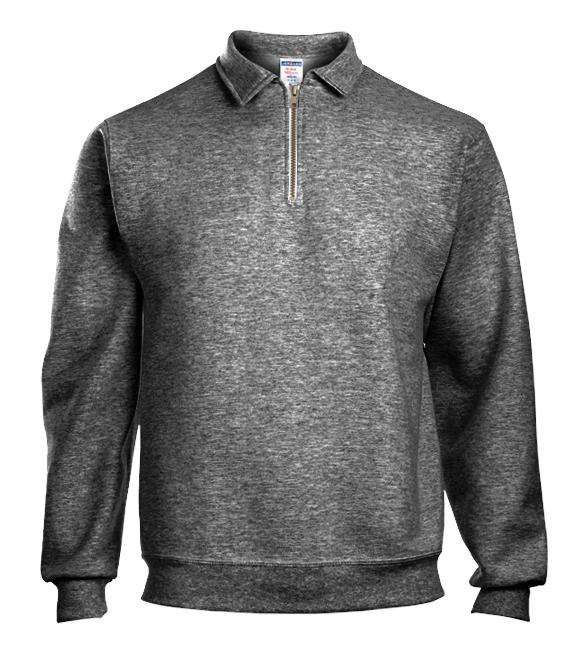 8373ac90d1d Jerzees Quarter Zip Pullover Sweatshirt Jerzees Quarter Zip Pullover  Sweatshirt