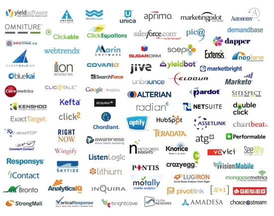 various company logos