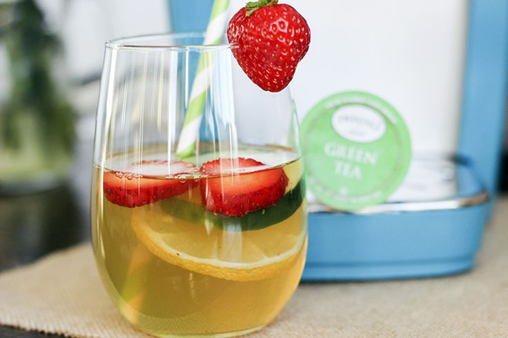 detox iced green tea