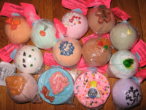 Cocoa Butter bath bombs